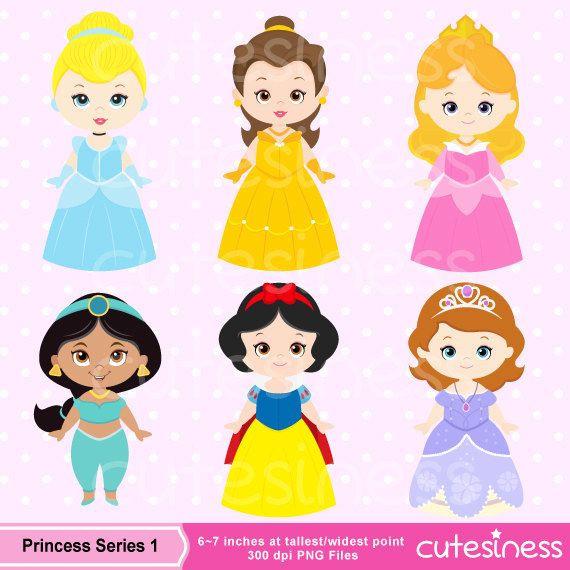 7 Zwerge Clipart Inspirierend Cute Princess Digital Clipart Princess Clip Art Cute by Cutesiness Stock