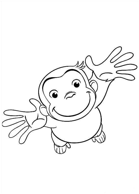 Affen Zum Ausmalen Frisch Coco Der Neugierige Affe Ausmalbilder 31 Malbuch Druckfertig Fotos