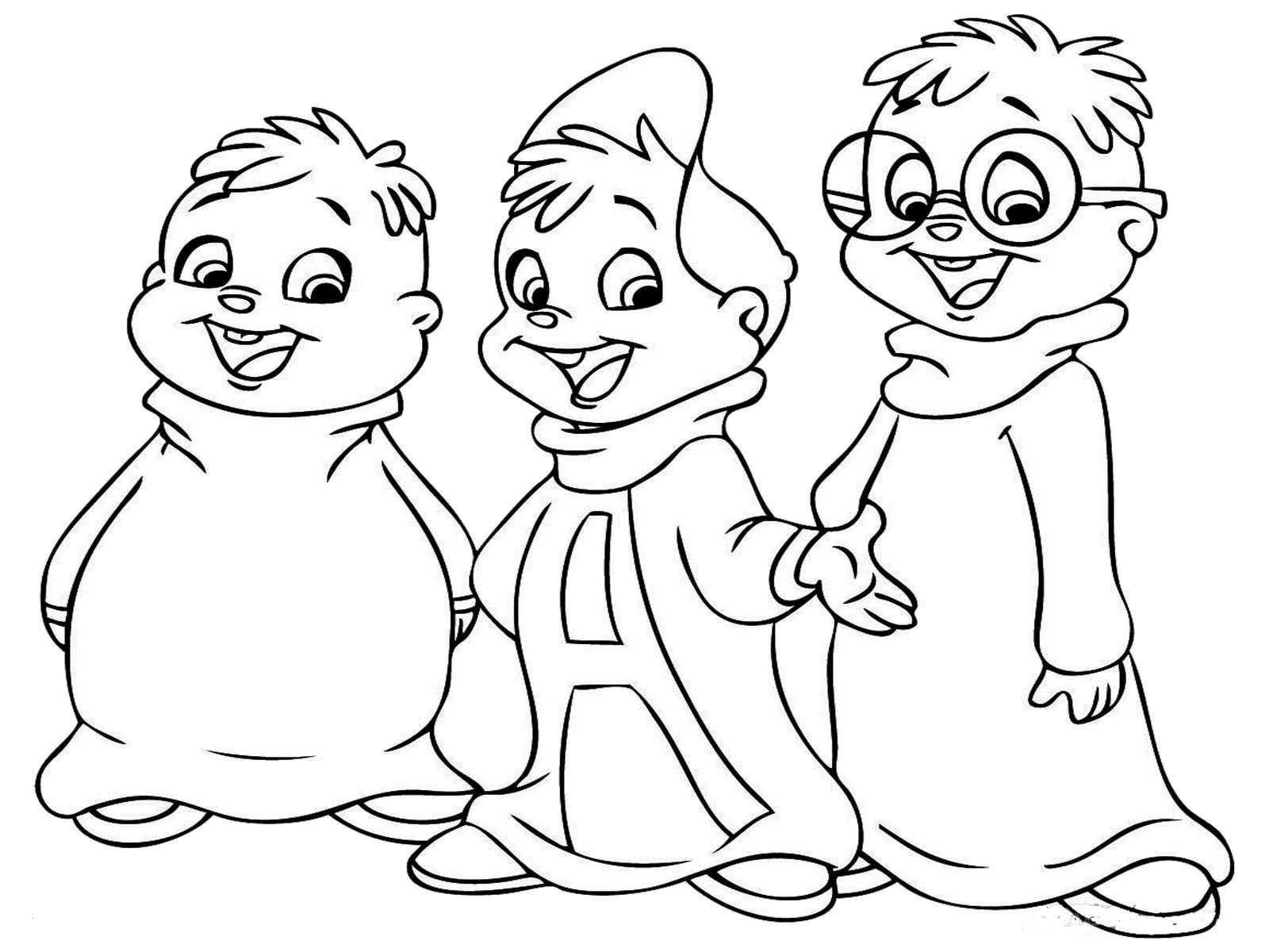 Alvin Und Die Chipmunks Ausmalbilder Frisch 50 Luxus Ausmalbilder Alvin Und Die Chipmunks Beste Malvorlage Das Bild
