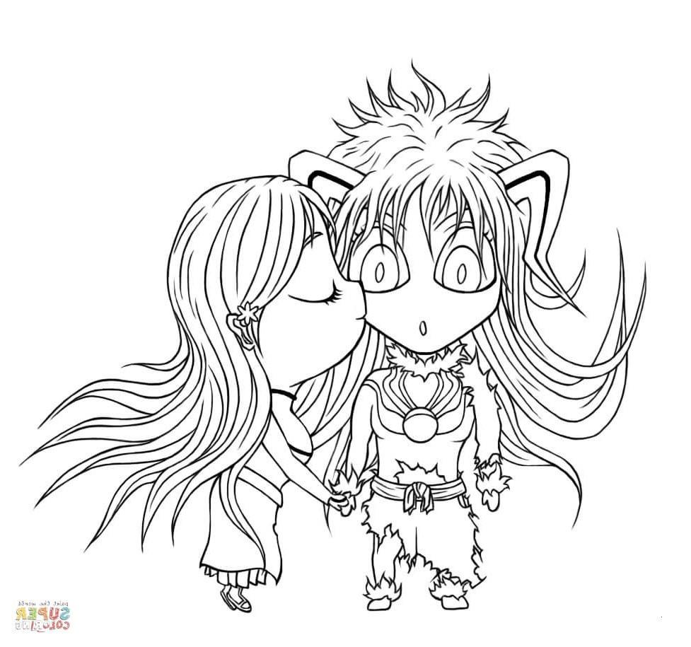 Anime Ausmalbilder Chibi Einzigartig Sailor Moon ...
