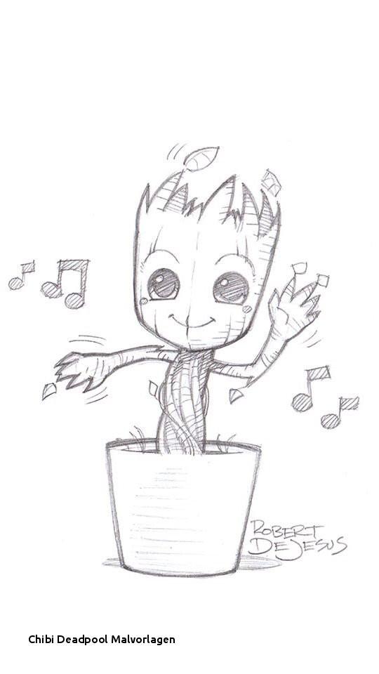 Anime Ausmalbilder Chibi Genial Chibi Deadpool Malvorlagen Cute Dancing Groot Art Things Pinterest Stock