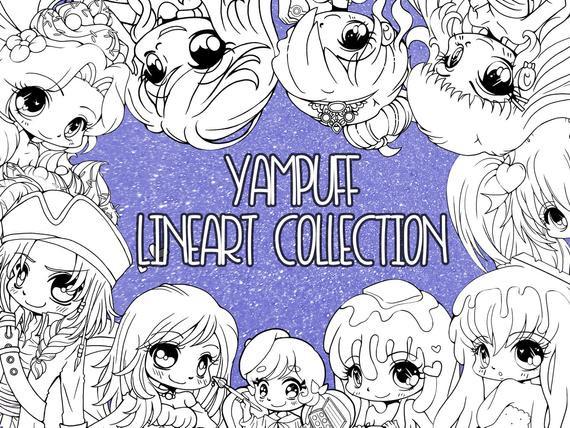 Anime Ausmalbilder Chibi Neu Yampuff Ausmalbild Sammlung 150 Seid sofortiger Bild