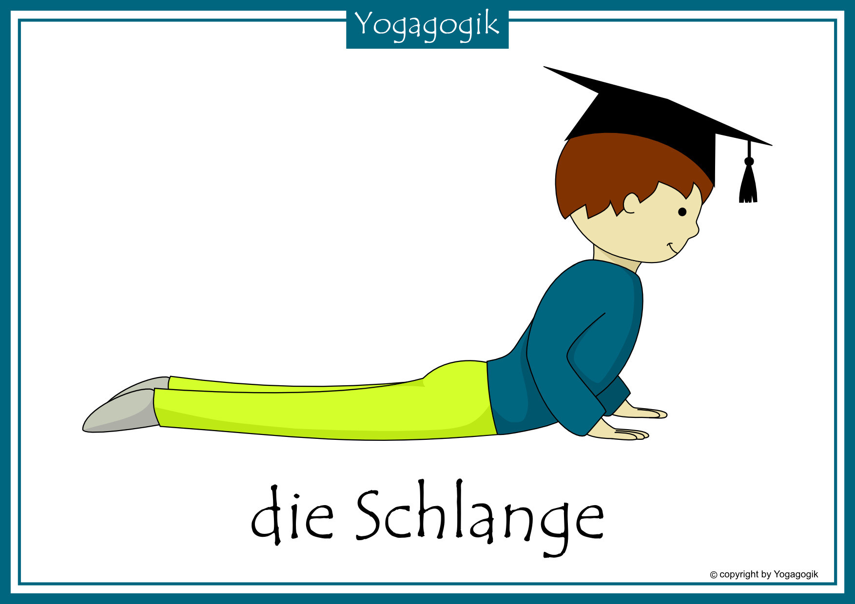 Anime Engel Ausmalbilder Inspirierend Kinderyoga Flashcards Schlange Beauty Day Deutsch Einzigartig Sammlung