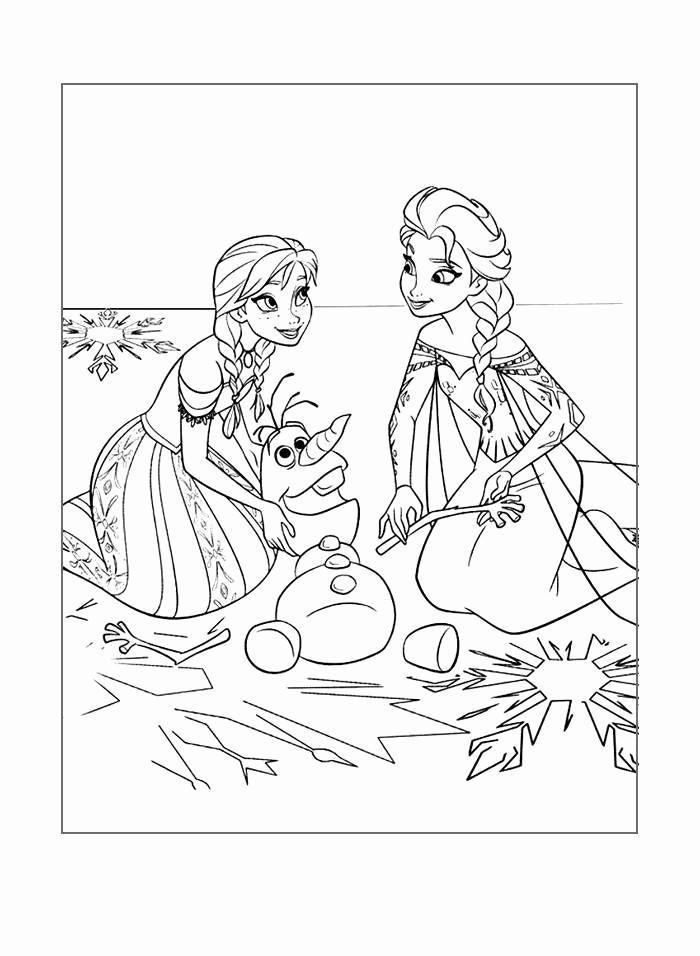 Anna Und Elsa Ausmalbilder Inspirierend Anna Und Elsa Ausmalbilder Frisch Free Olaf Coloring Pages Elegant Das Bild