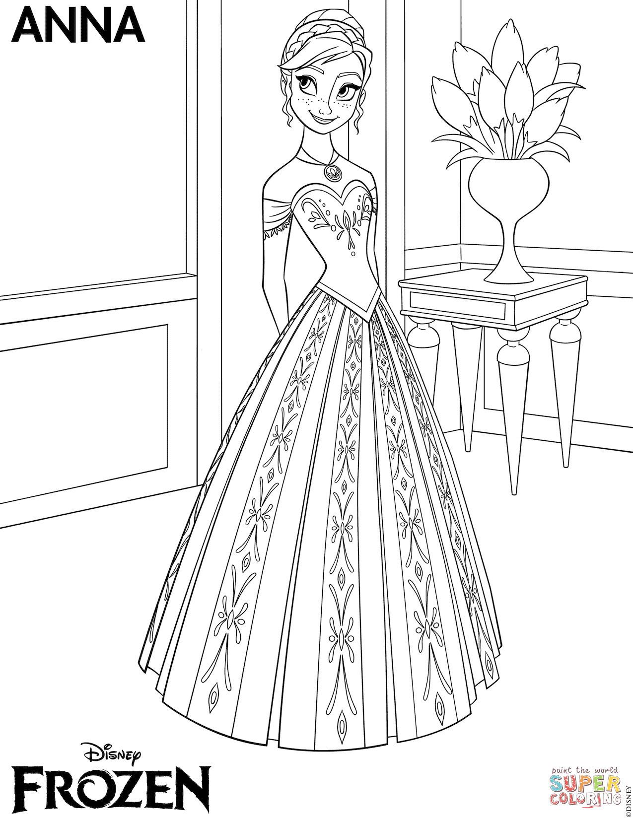Anna Und Elsa Ausmalen Einzigartig Ausmalbild Elsa Aus Frozen Best Anna Frozen Ausmalbilder Galerie