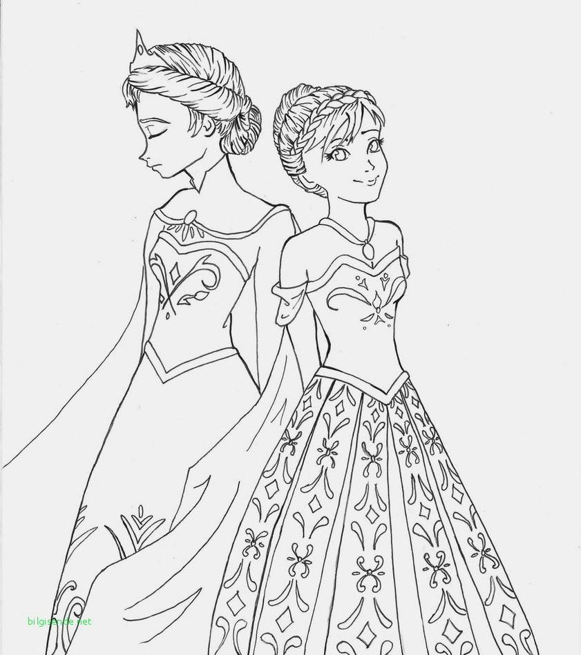 Anna Und Elsa Malvorlagen Genial Eine Sammlung Von Färbung Bilder Ausmalbilder Prinzessin Elsa Galerie