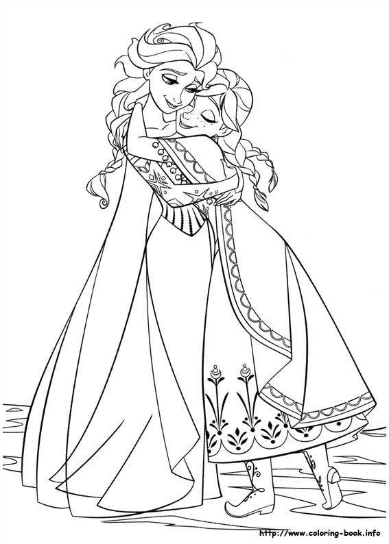 Anna Und Elsa Zum Ausmalen Das Beste Von Frozen Coloring Picture Elsa & Anna Coloring Pages Ausmalbilder Galerie