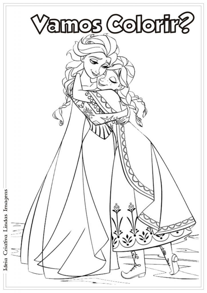 Anna Und Elsa Zum Ausmalen Frisch Druckbare Malvorlage Ausmalbilder Frozen Beste Druckbare Das Bild