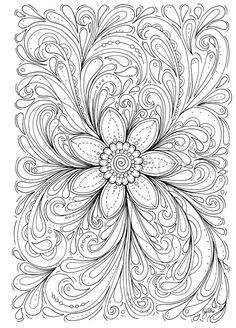 Anspruchsvolle Mandalas Zum Ausdrucken Neu 36 Besten Mandala Blumen Bilder Auf Pinterest Bild