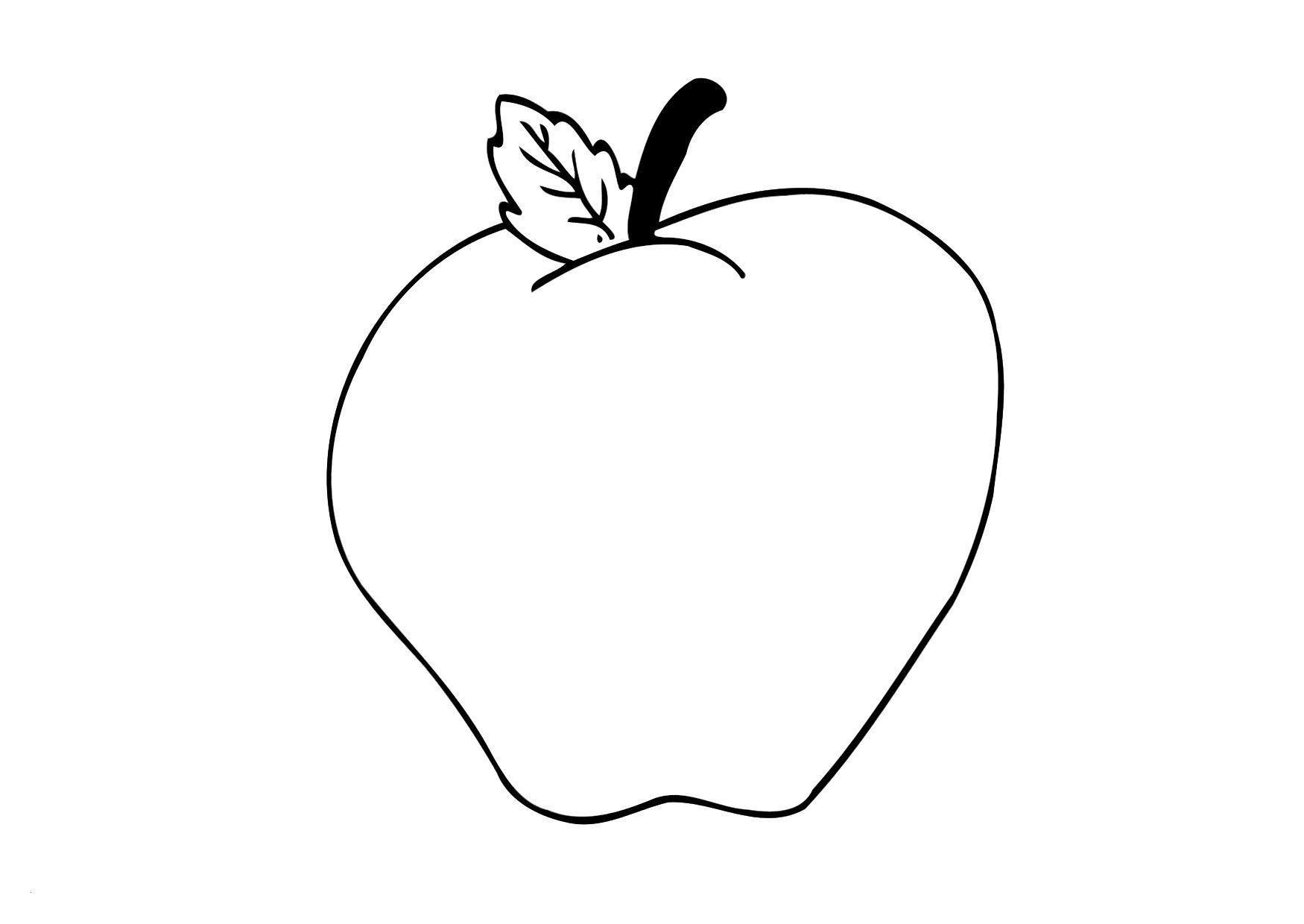 Apfel Zum Ausmalen Genial Apple Bilder Zum Ausmalen Wunderbar Malvorlage Apfel Genial Bilder