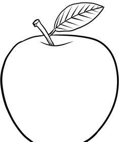 Apfel Zum Ausmalen Inspirierend Ausmalbilder Apfel Schablonen Fotografieren
