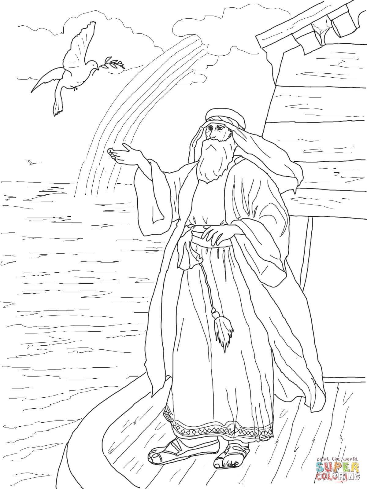 Arche Noah Ausmalbild Inspirierend Noah Und Die Arche Malvorlagen Inspirierend Ausmalbild Noahs Taube Galerie