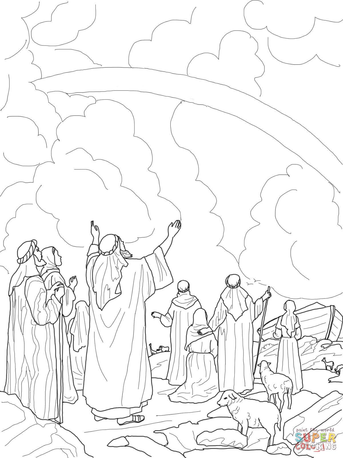 Arche Noah Regenbogen Ausmalbild Einzigartig 35 Ausmalbilder Affen Scoredatscore Neu Arche Noah Ausmalbilder Das Bild