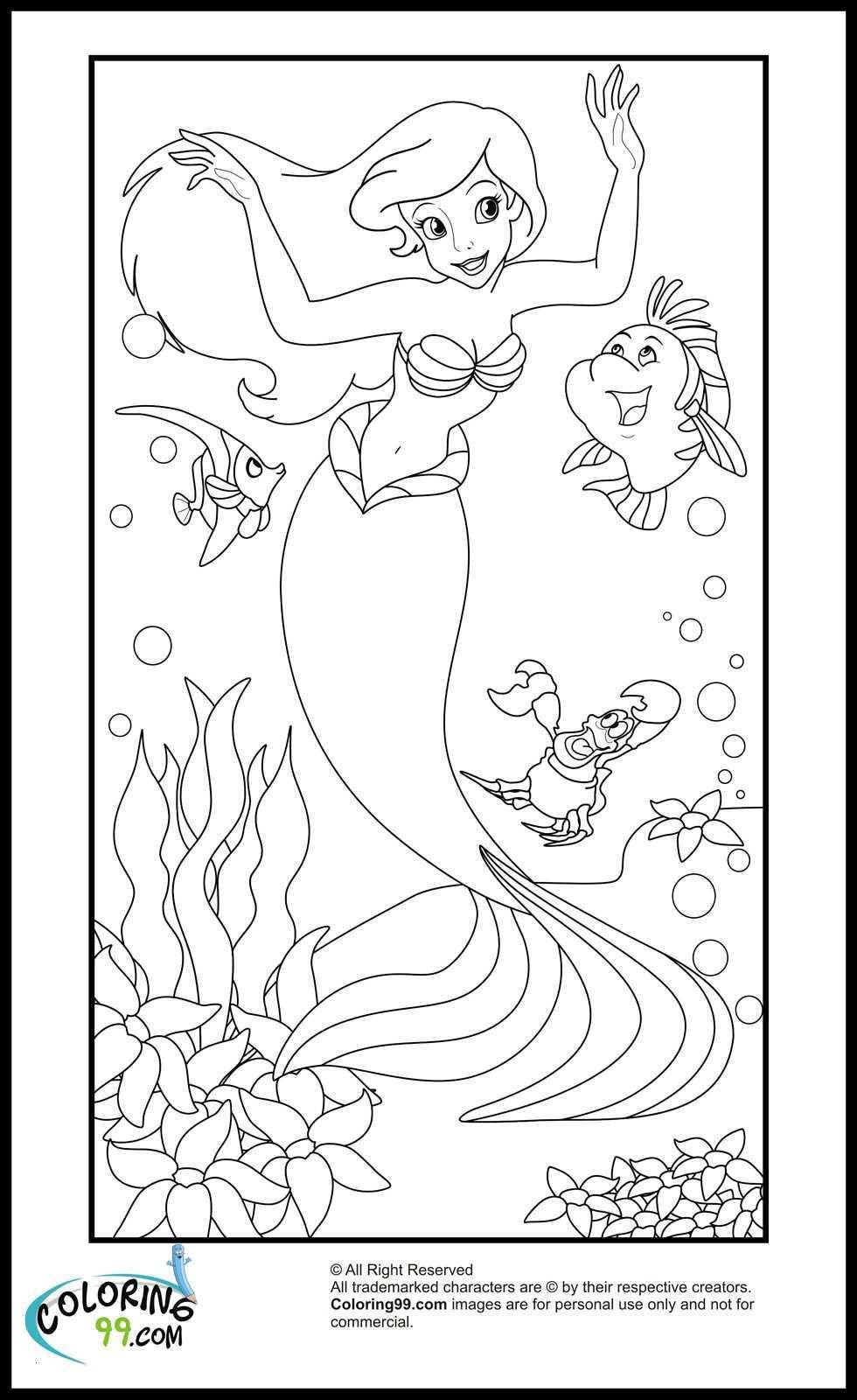 Arielle Ausmalbilder Zum Drucken Kostenlos Frisch Arielle Die Meerjungfrau Ausmalbild Bild Malvorlagen Fur Kinder Sammlung