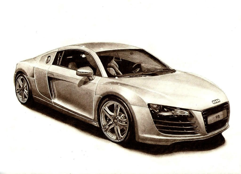 Audi R8 Ausmalbilder Neu How to Draw An Audi R8 Elegant Audi R8 Hand Sketches I Design Bild