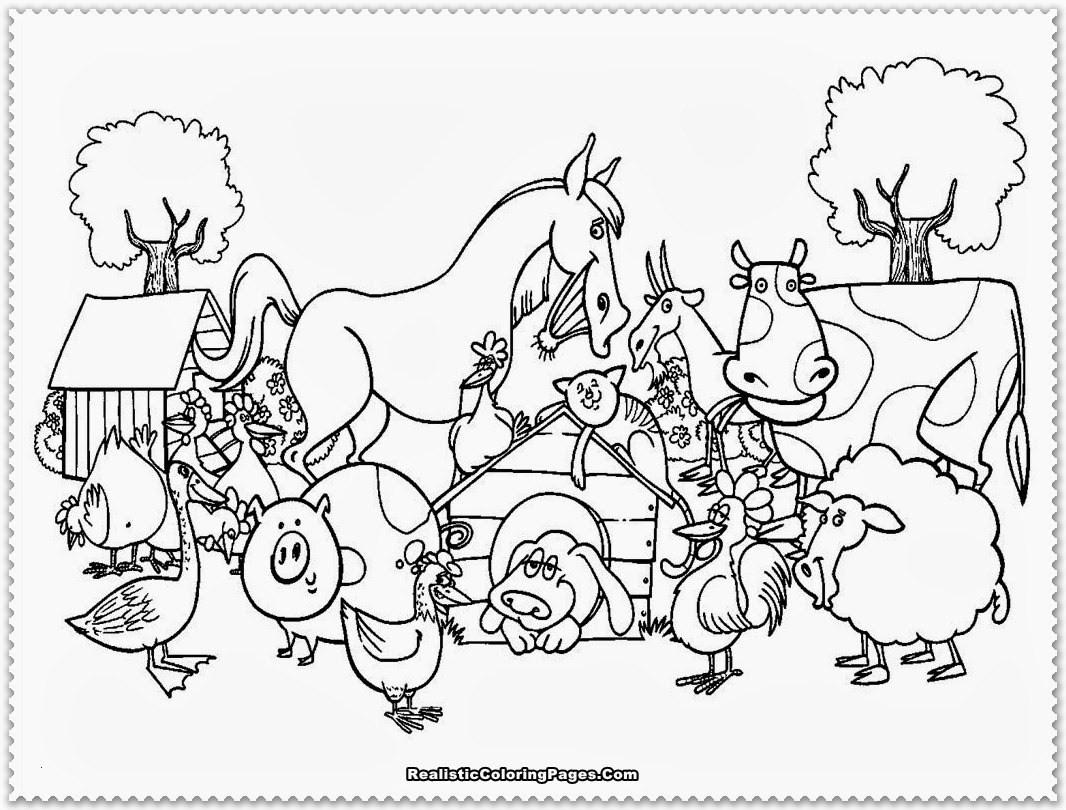 Ausmalbild Bauernhof Tiere Frisch Bauernhoftiere Ausmalbilder Luxus 40 Ausmalbilder Zum Ausdrucken Stock