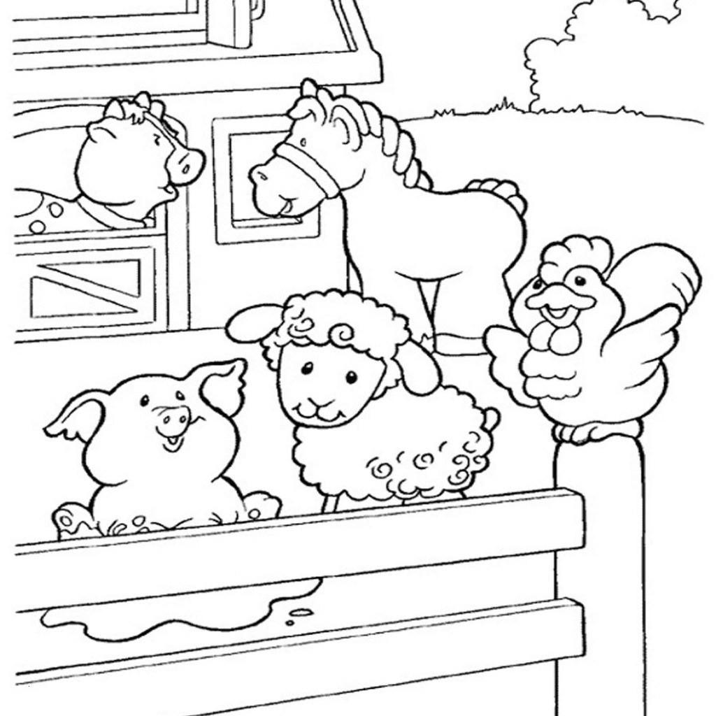 Ausmalbild Bauernhof Tiere Neu 40 Malvorlagen Bauernhoftiere Scoredatscore Schön Ausmalbilder Galerie