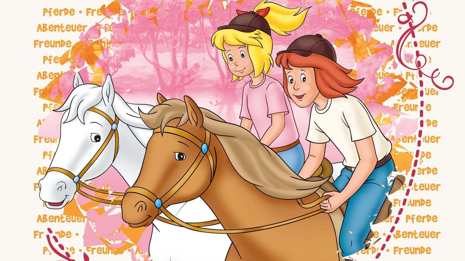 Ausmalbild Bibi Und Tina Auf Amadeus Und Sabrina Frisch Ostern Mit Bibi Und Tina Movieriff Das Bild