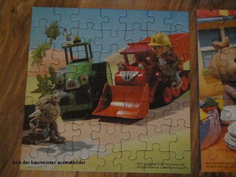 Ausmalbild Bob Der Baumeister Inspirierend Bob Der Baumeister Ausmalbilder Bob Der Baumeister 3 Kleinere Puzzle Stock