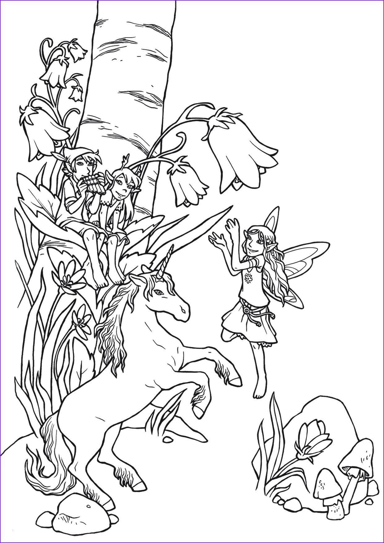 Ausmalbild Einhorn Mit Fee Inspirierend 35 Ausmalbilder Einhorn Mit Fee forstergallery Galerie