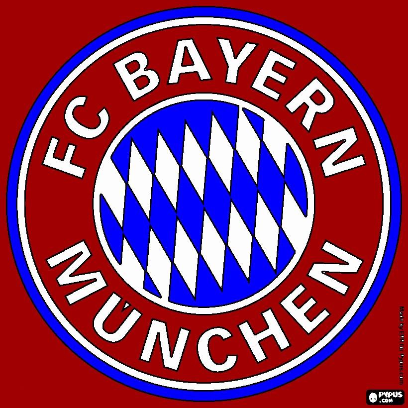 Ausmalbild Fc Bayern Frisch Fc Bayern Logo Zum Ausdrucken Beispiele Bayern Ausmalbilder Bilder