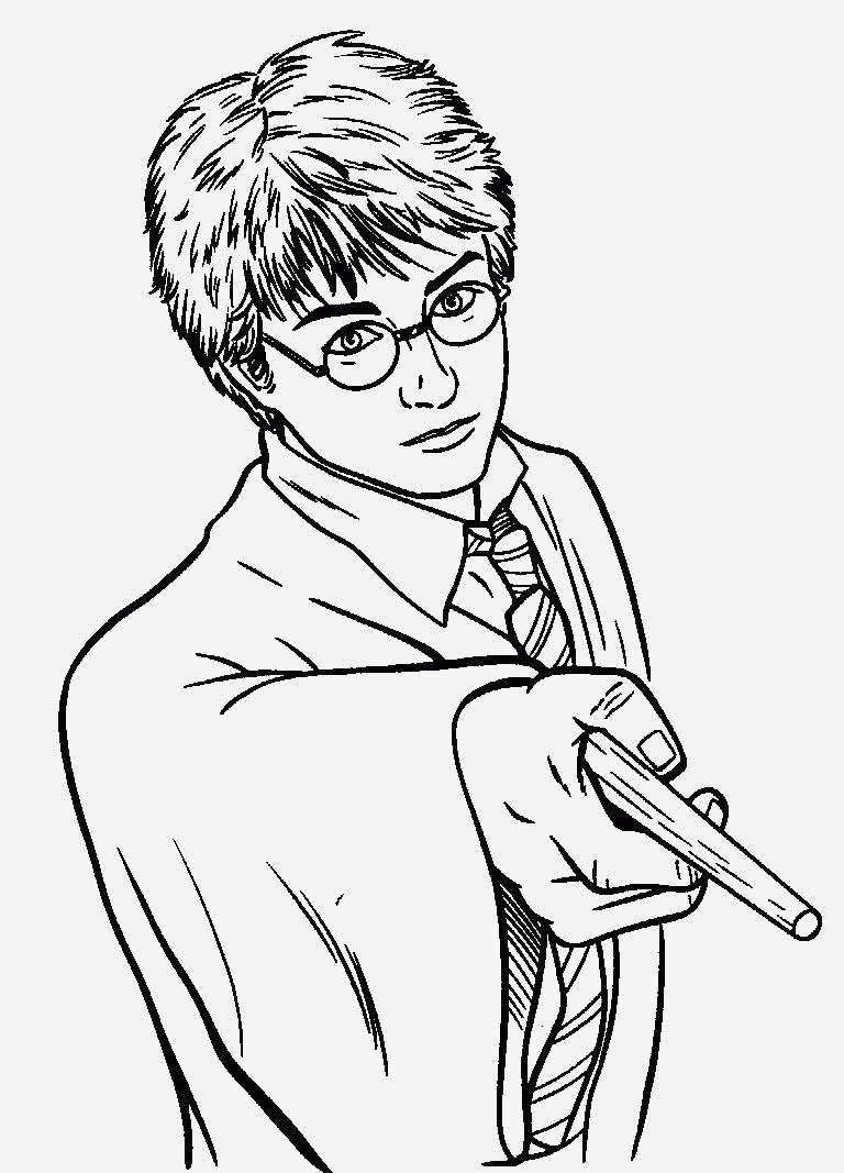 Ausmalbild Harry Potter Einzigartig Spannende Coloring Bilder Harry Potter Malvorlagen Fotografieren