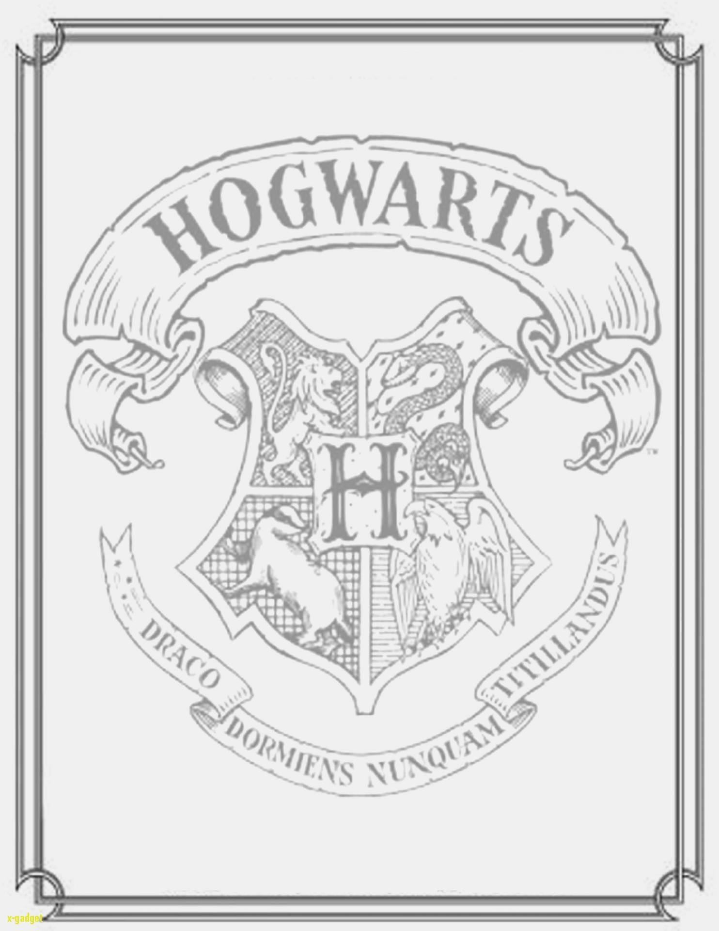 Ausmalbild Harry Potter Neu Spannende Coloring Bilder Harry Potter Malvorlagen Stock