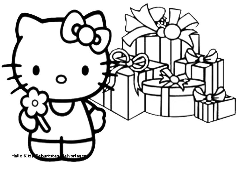Ausmalbild Hello Kitty Frisch 30 Hallo Kitty Geburtstag Malvorlagen Stock