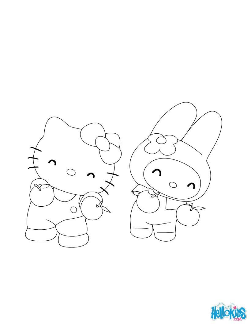Ausmalbild Hello Kitty Frisch Hello Kitty Zum Ausmalen De Hellokids Inspirierend Ausmalbilder Das Bild