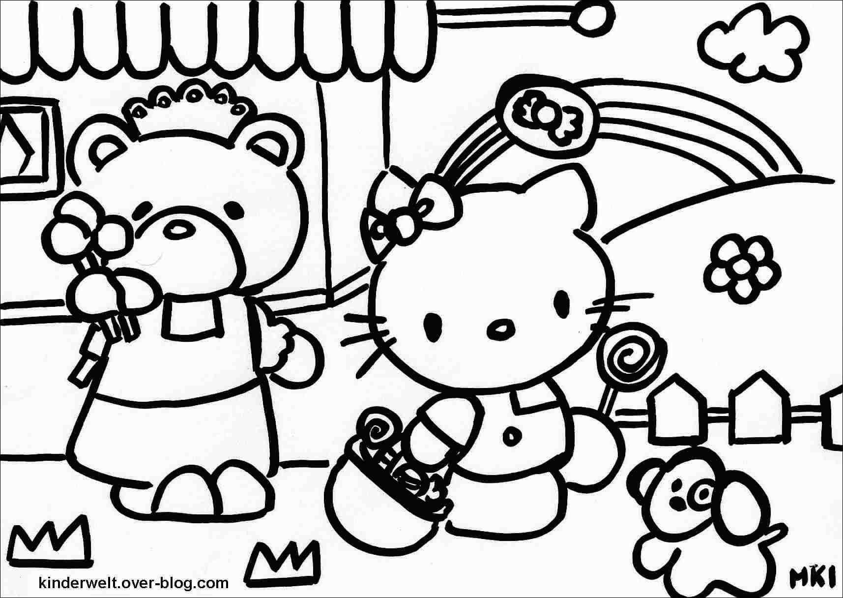 Ausmalbild Hello Kitty Genial Kostenlose Ausmalbilder Hello Kitty Image Malvorlagen Igel Elegant Fotografieren