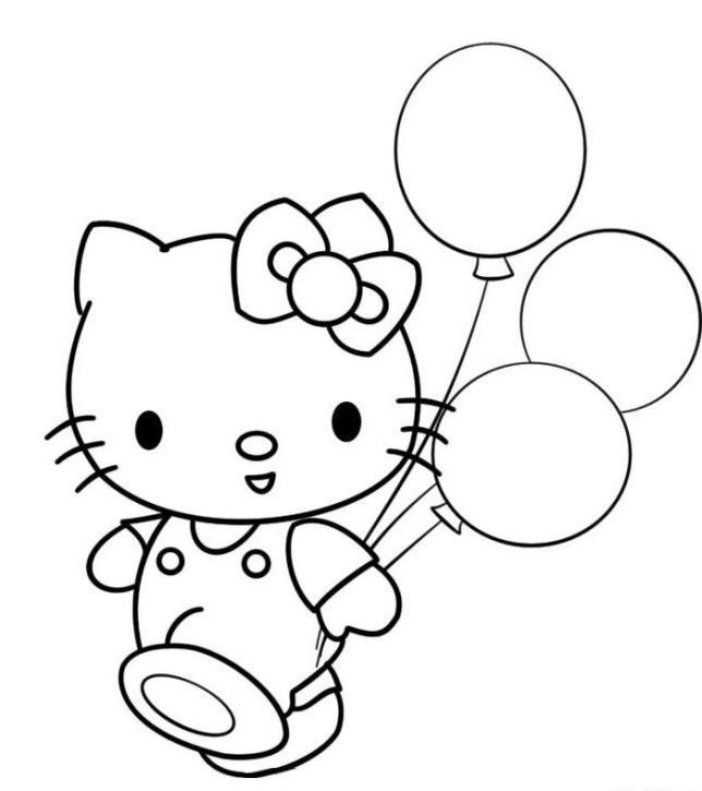 Ausmalbild Hello Kitty Inspirierend Malmichaus Ausmalbild Malvorlage Hello Kitty 1 Stock