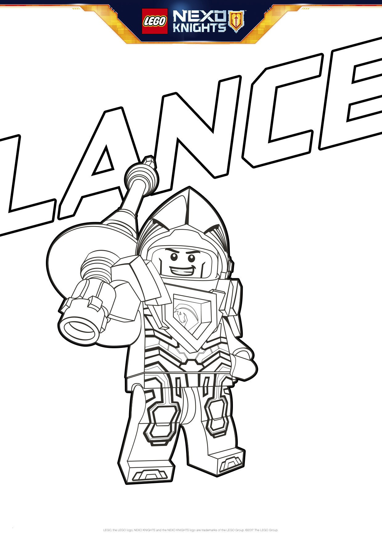 Ausmalbild Lego Batman Einzigartig 32 Malvorlagen Lego Nexo Knights forstergallery Sammlung