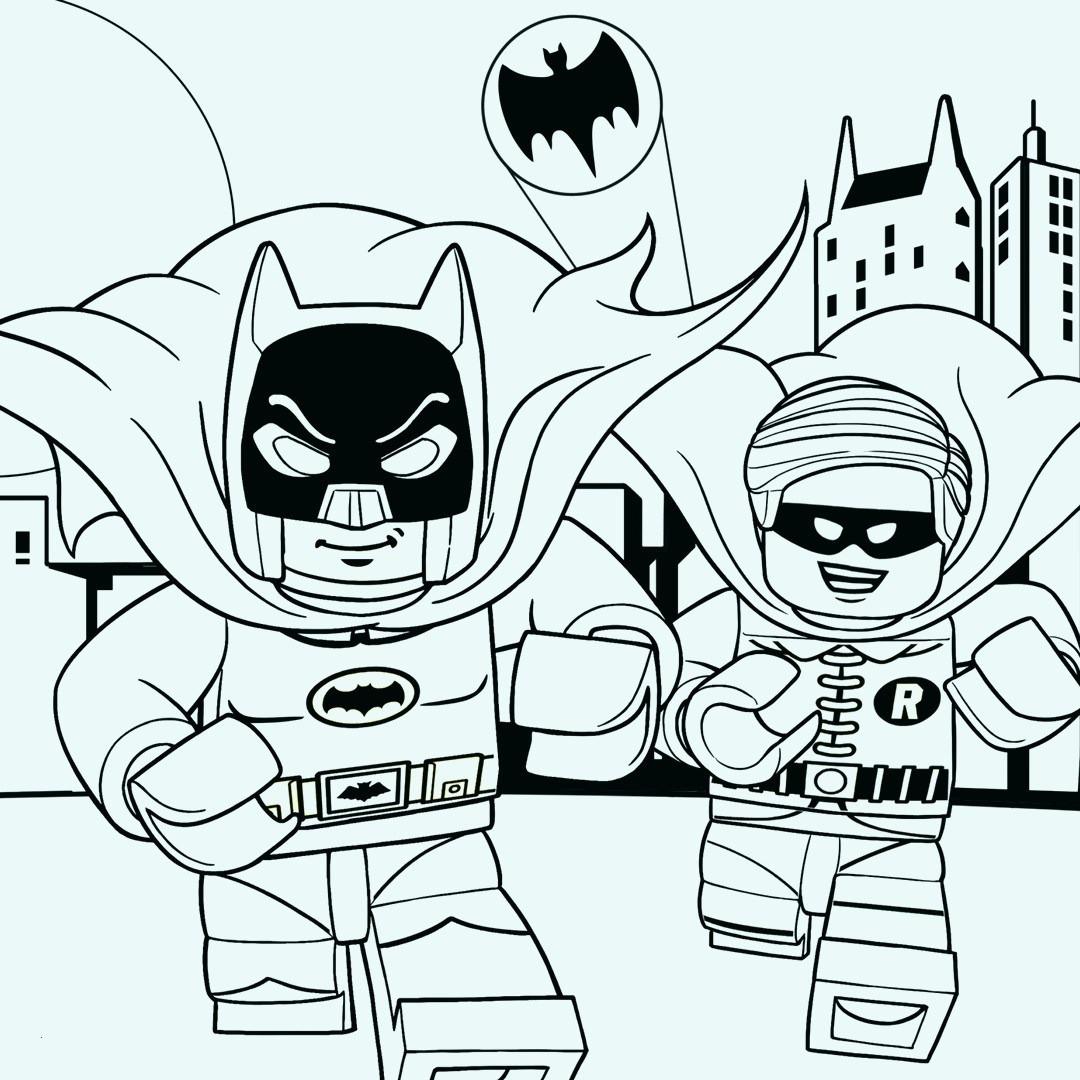 Gratis Lego Ausmalbilder Zum Herunterladen Und Ausdrucken: 99 Einzigartig Ausmalbild Lego Batman Stock