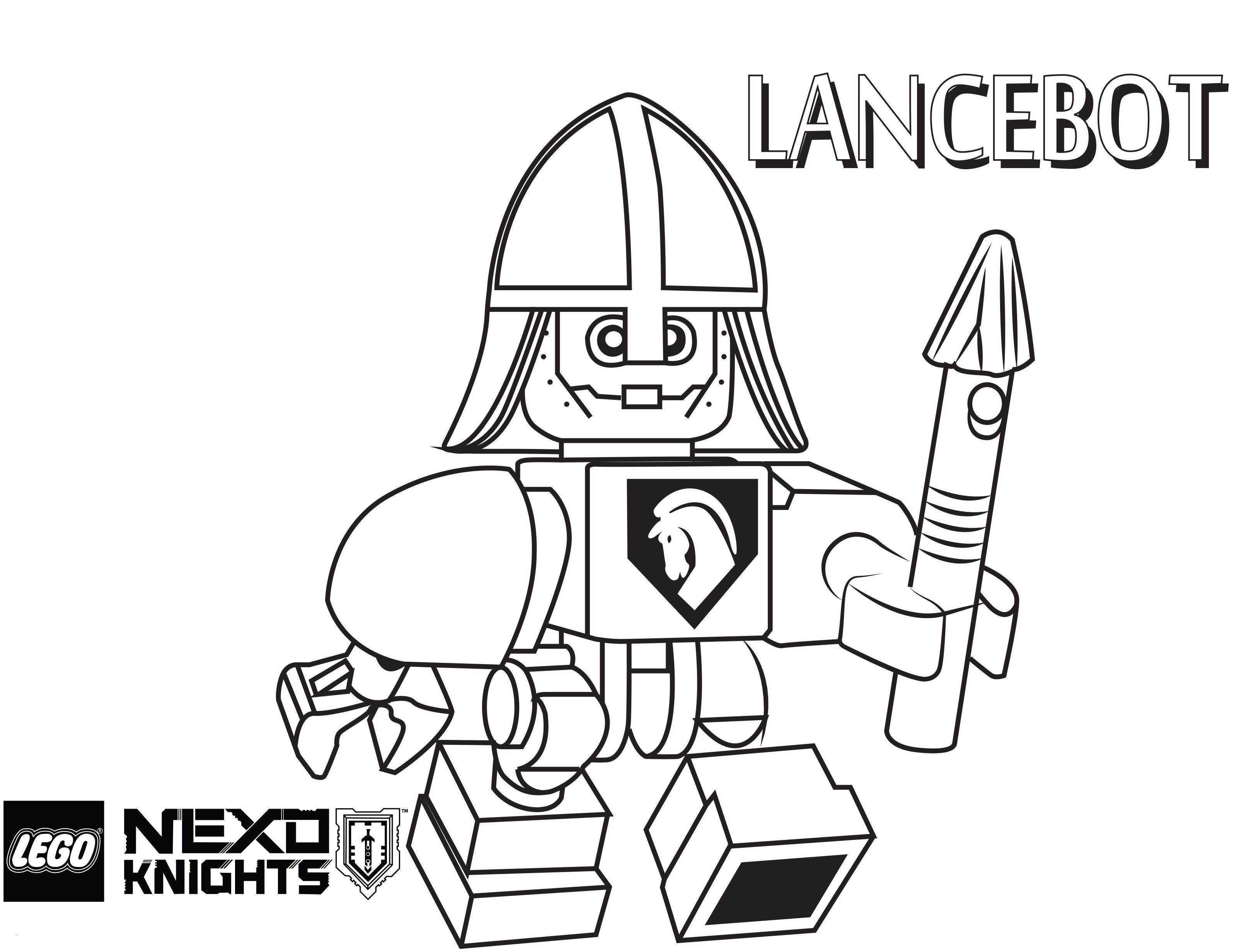 Ausmalbild Lego Batman Frisch Lego Nexo Knights Coloring Pages Free Printable Lego Nexo Knights Sammlung