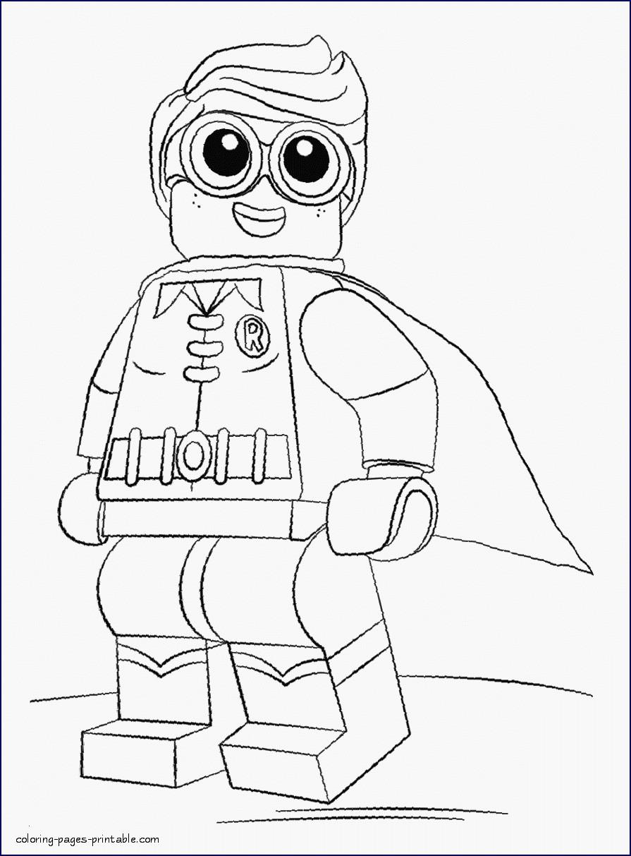 Ausmalbild Lego Batman Genial 40 Ausmalbilder Batman forstergallery Bilder