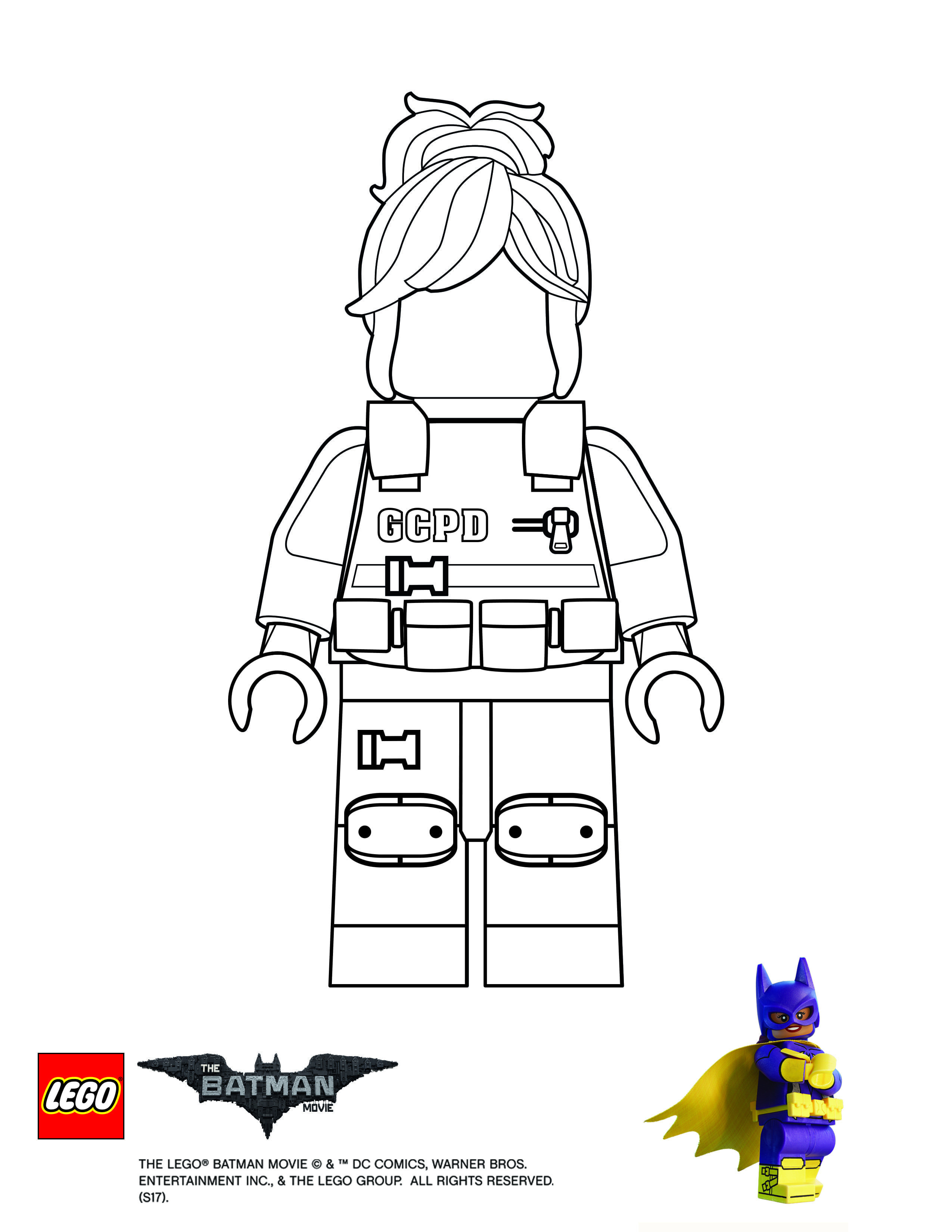 Finish Drawing Barbara Gordon the Lego Batman Movie Einzigartig