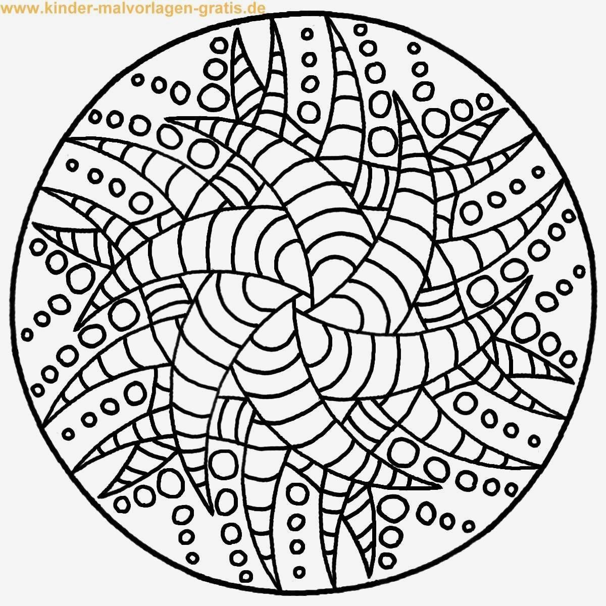 Ausmalbild Mandala Eule Das Beste Von Mandala Kinder Bild