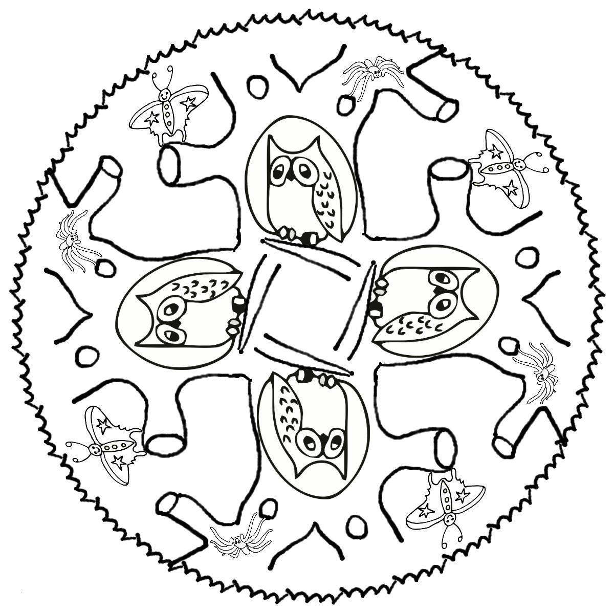 Ausmalbild Mandala Eule Einzigartig 50 Neu Ausmalbilder Zum Ausdrucken Eule Malvorlagen Sammlungen Sammlung
