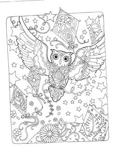 Ausmalbild Mandala Eule Frisch 31 Besten Eulen Bilder Auf Pinterest Fotos