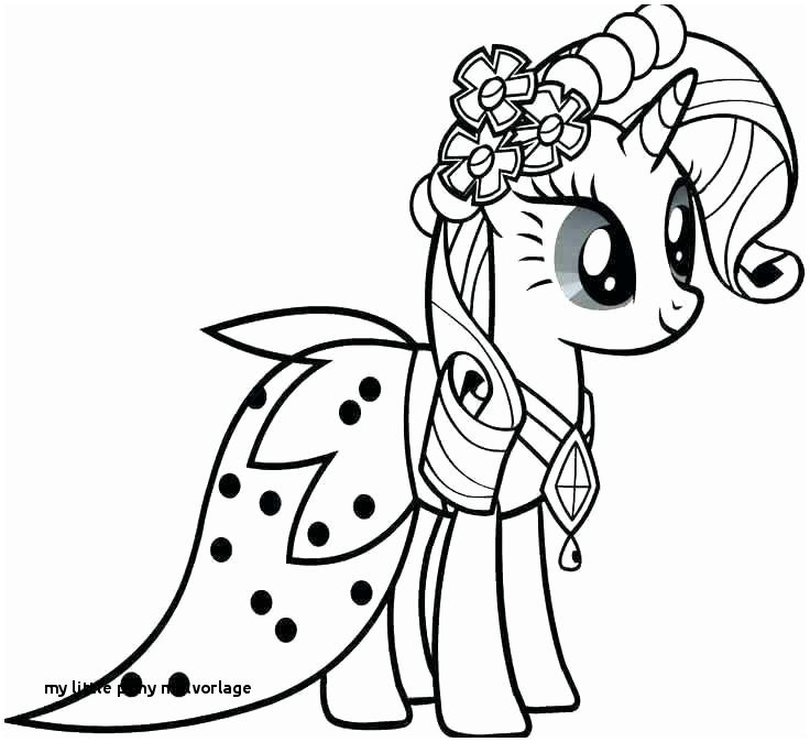 Ausmalbild My Little Pony Frisch 30 My Little Pony Malvorlage Bilder