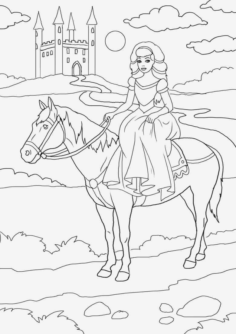 Ausmalbild Prinzessin Einhorn Das Beste Von Malvorlage Prinzessin Mit Einhorn Eine Sammlung Von Färbung Bilder Bild