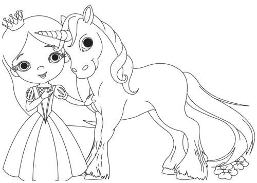 Ausmalbild Prinzessin Einhorn Frisch Ausmalbilder Prinzessin Einhorn Ideen Kostenlose Malvorlage Galerie