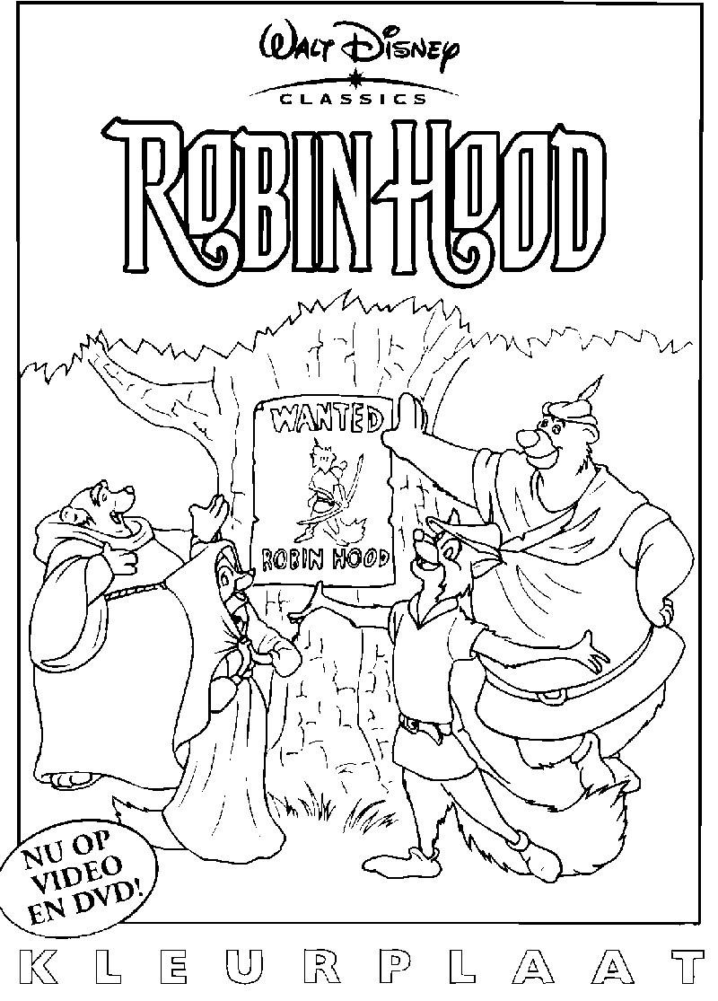 97 Genial Ausmalbild Robin Hood Bild Kinder Bilder