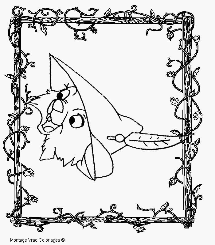 Ausmalbild Robin Hood Einzigartig Malvorlage Robin Hood Beratung Kids N Fun Das Bild