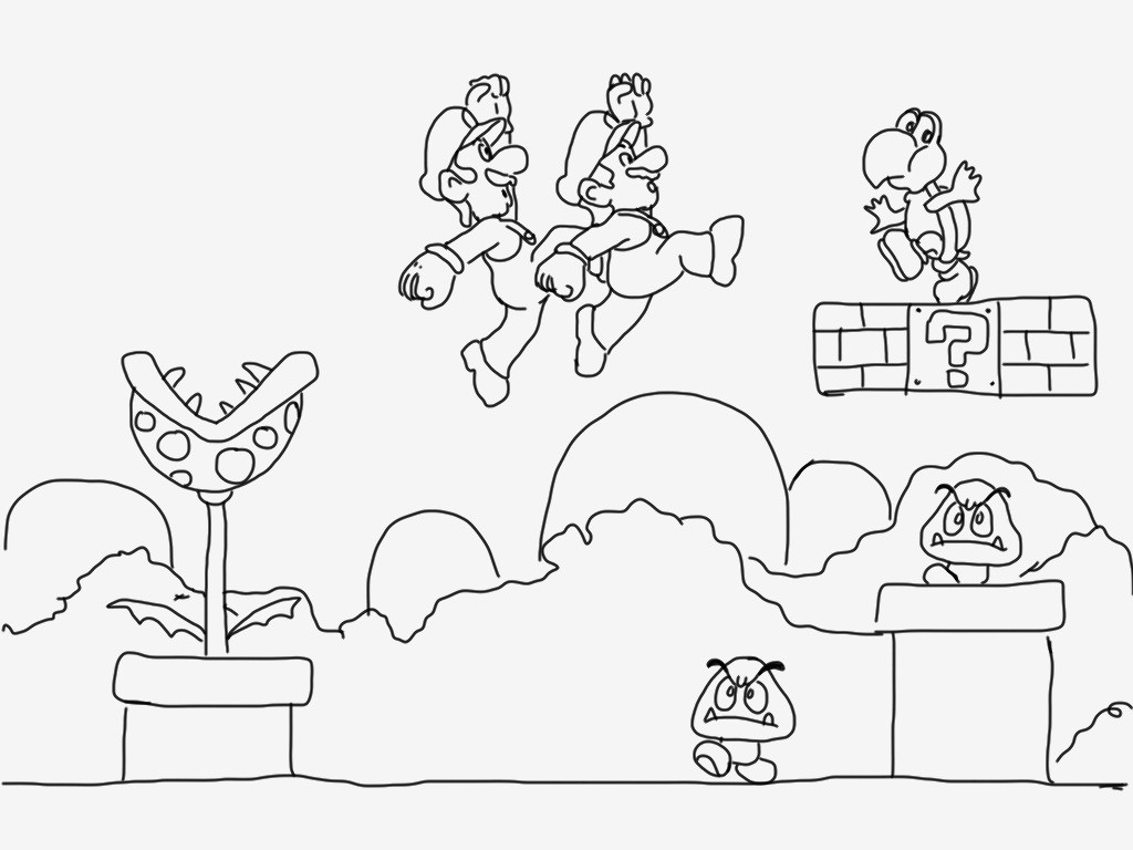 Ausmalbild Super Mario Das Beste Von Spannende Coloring Bilder Super Mario Malvorlagen Genial Malvorlagen Galerie
