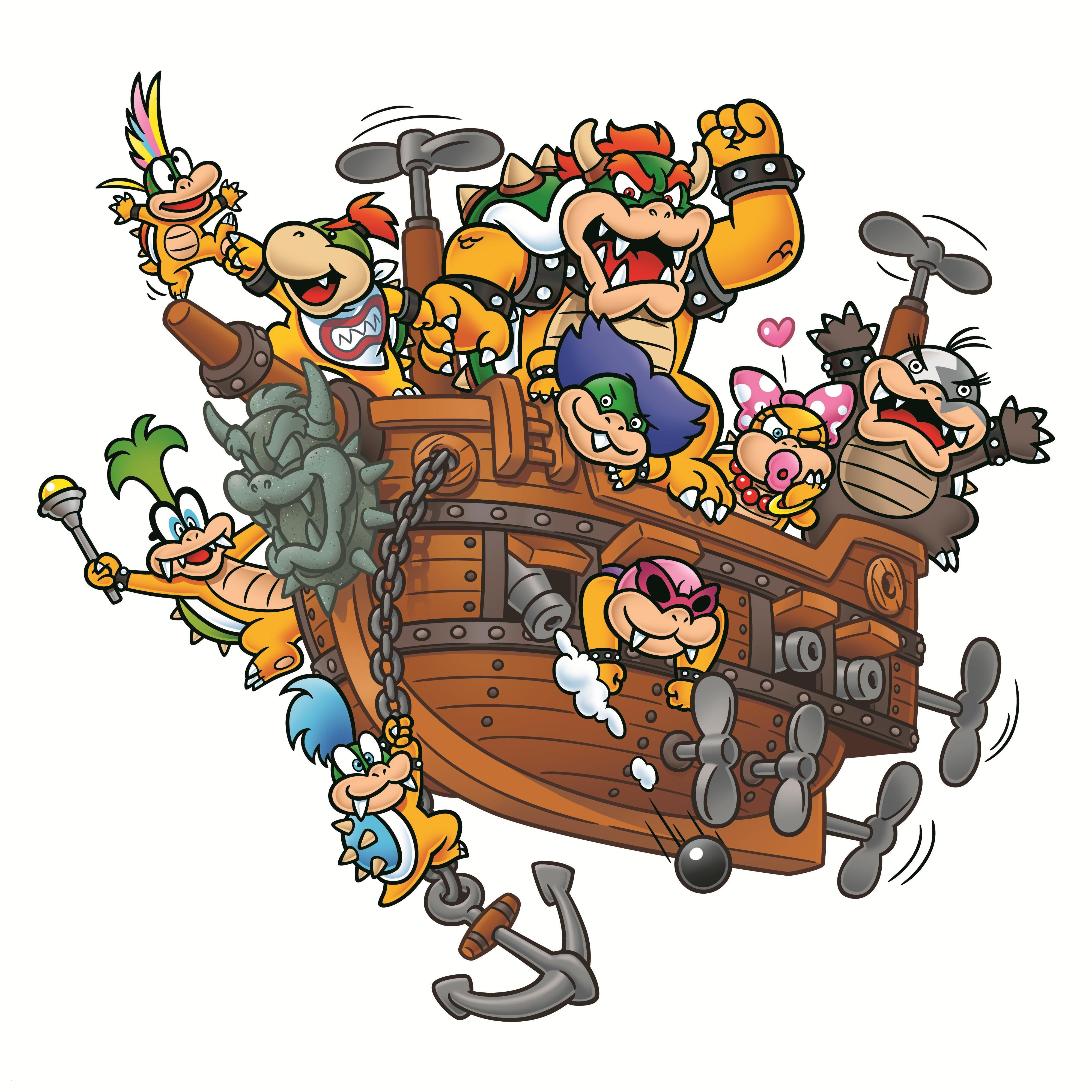 Ausmalbild Super Mario Einzigartig Koopa Mariowiki Schön Ausmalbilder Super Mario Bowser Galerie