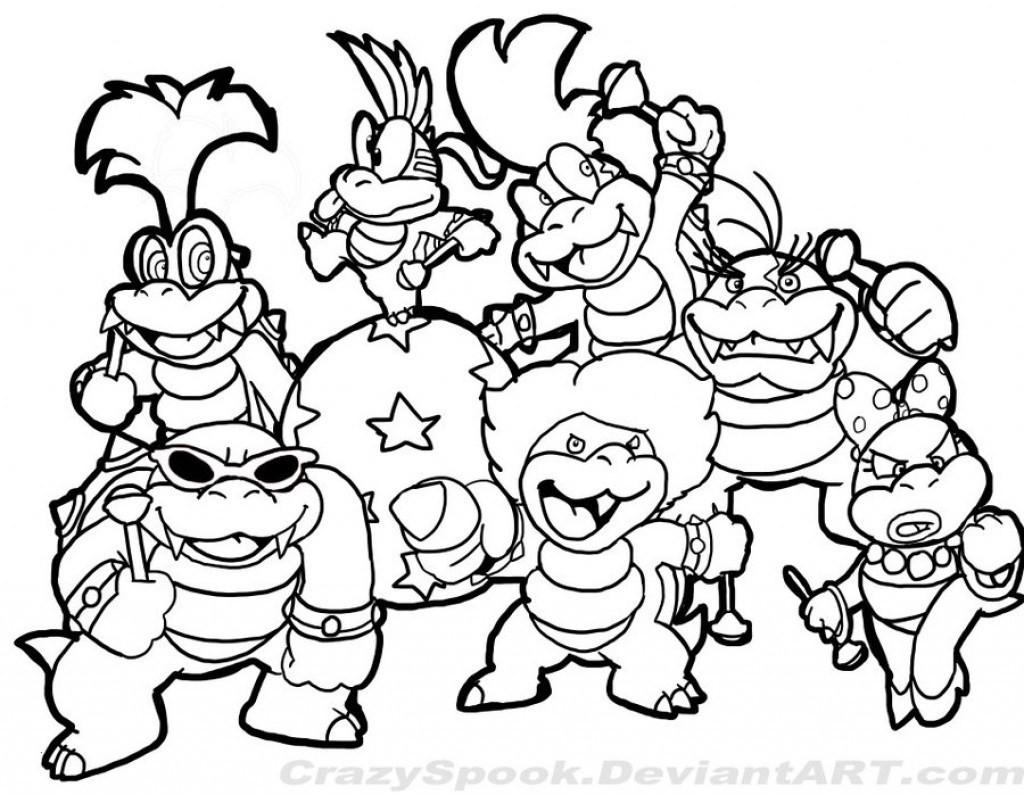 Ausmalbild Super Mario Genial Super Mario Malvorlagen Schön 40 Malvorlagen Baum Scoredatscore Das Bild