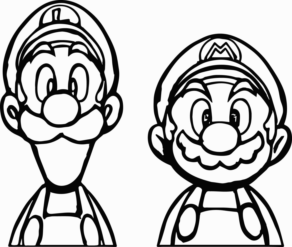 Ausmalbild Super Mario Inspirierend Best Coloring Pages Super Mario and Princess Peach to Print Best Stock