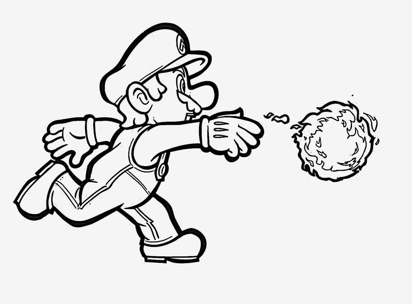 Ausmalbild Super Mario Neu Beispielbilder Färben Malvorlagen Mario Kostenlos Bilder