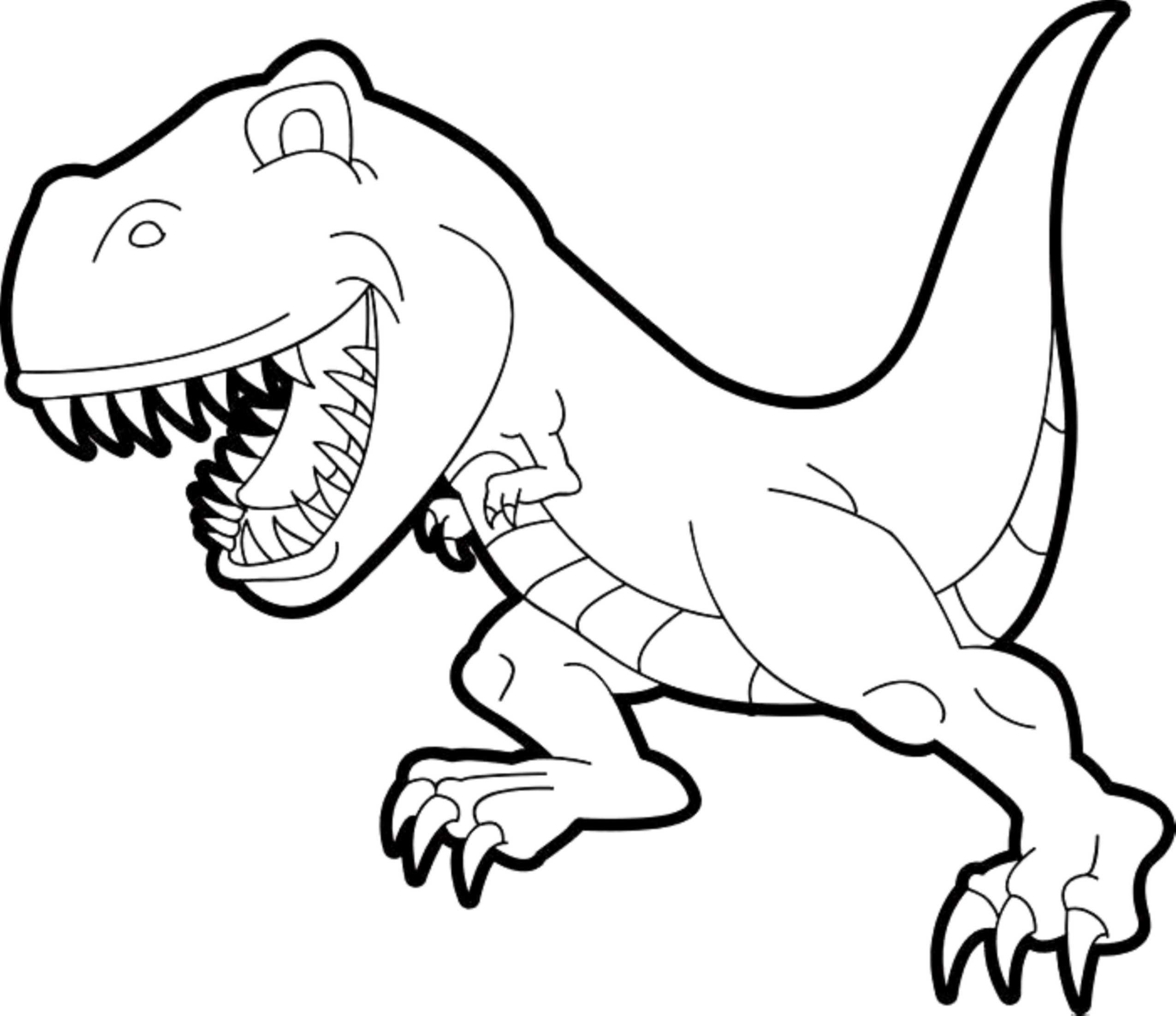 Ausmalbild T-rex Einzigartig 35 T Rex Ausmalbilder Scoredatscore Einzigartig Dinosaurier Rex Fotos